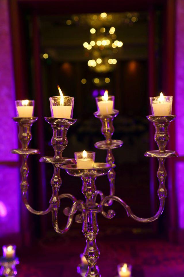 candle chandelier light decoration idea