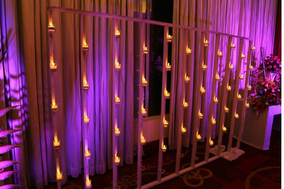 candle light decoration idea