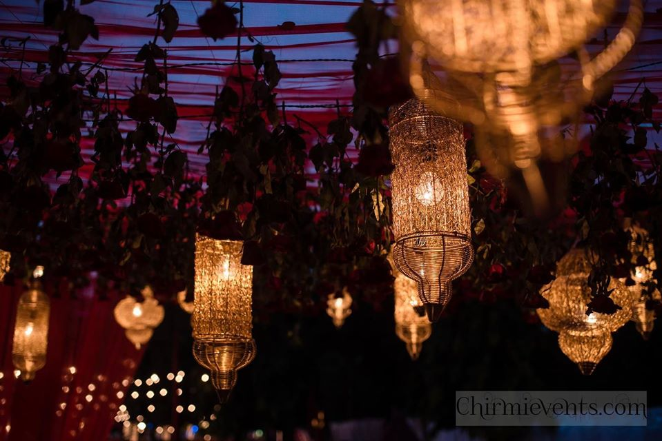 wedding theme design lighting