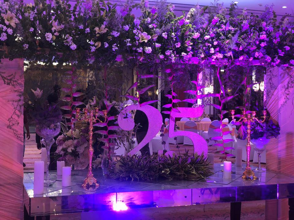 floral wedding decor design
