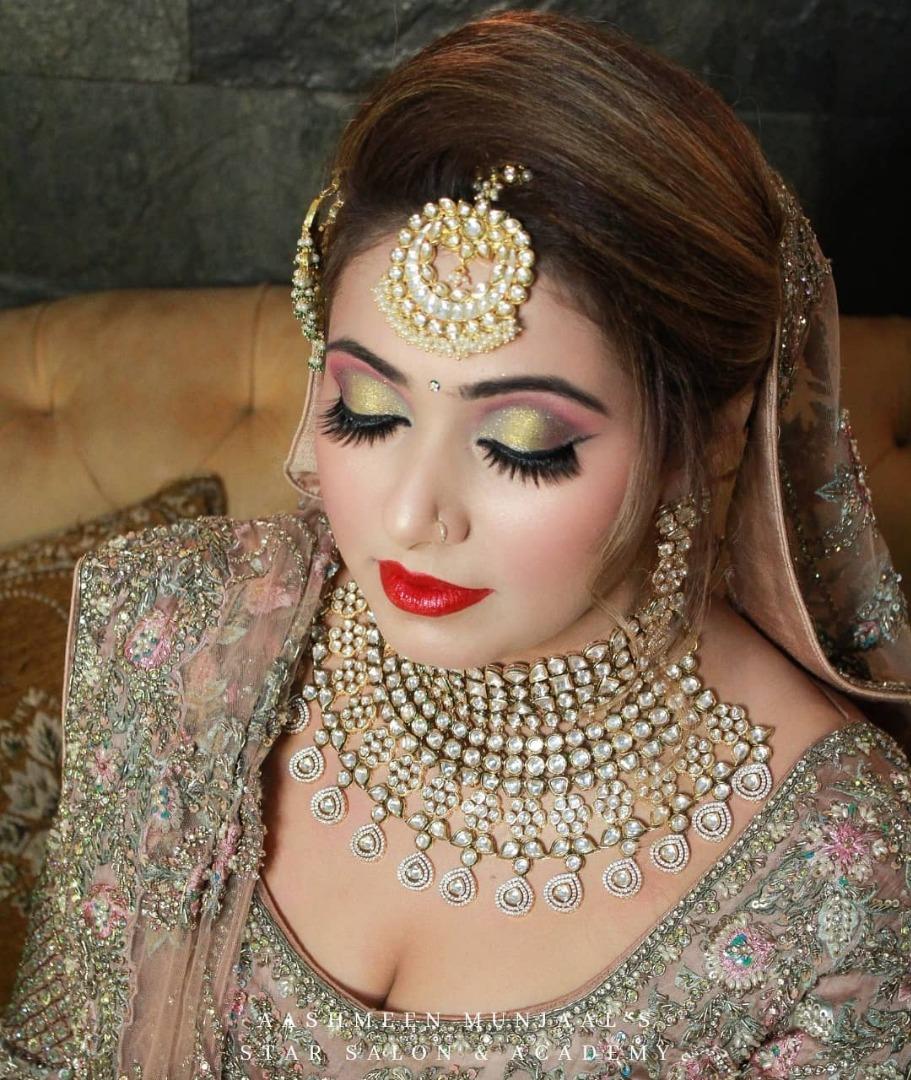 Splendid Indian Bridal eye makeup