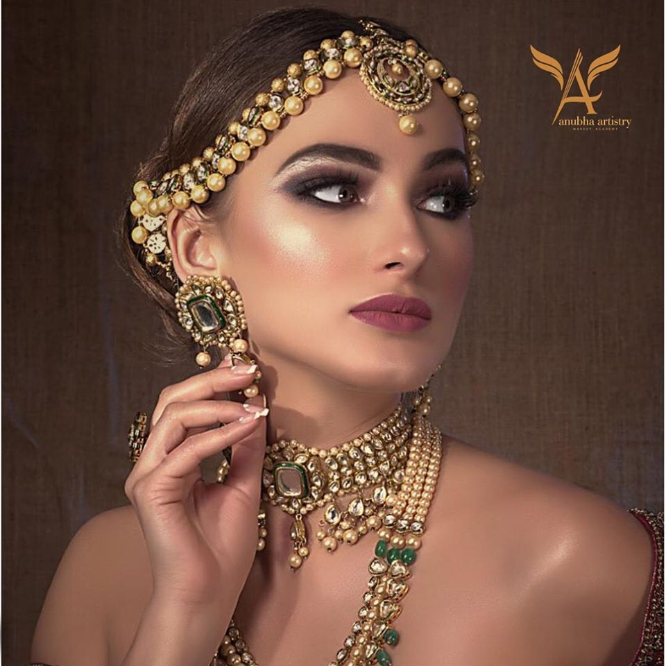 Bridal Makeup Ideas by Anubha Dawar