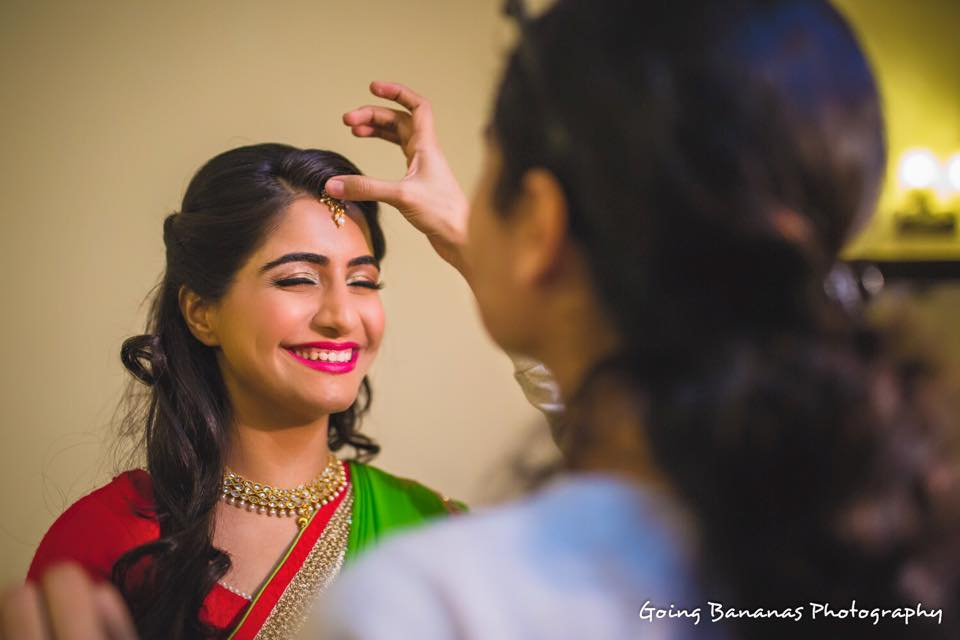 Bridal Makeup for Haldi Ceremony