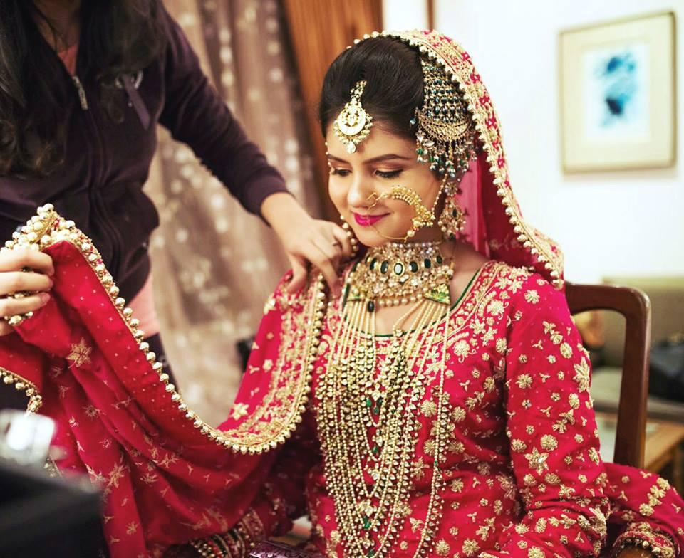Heavy Bridal Passa for Muslim Brides