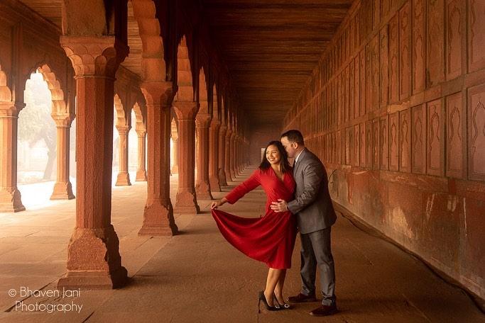 candid and creative wedding photography of couple
