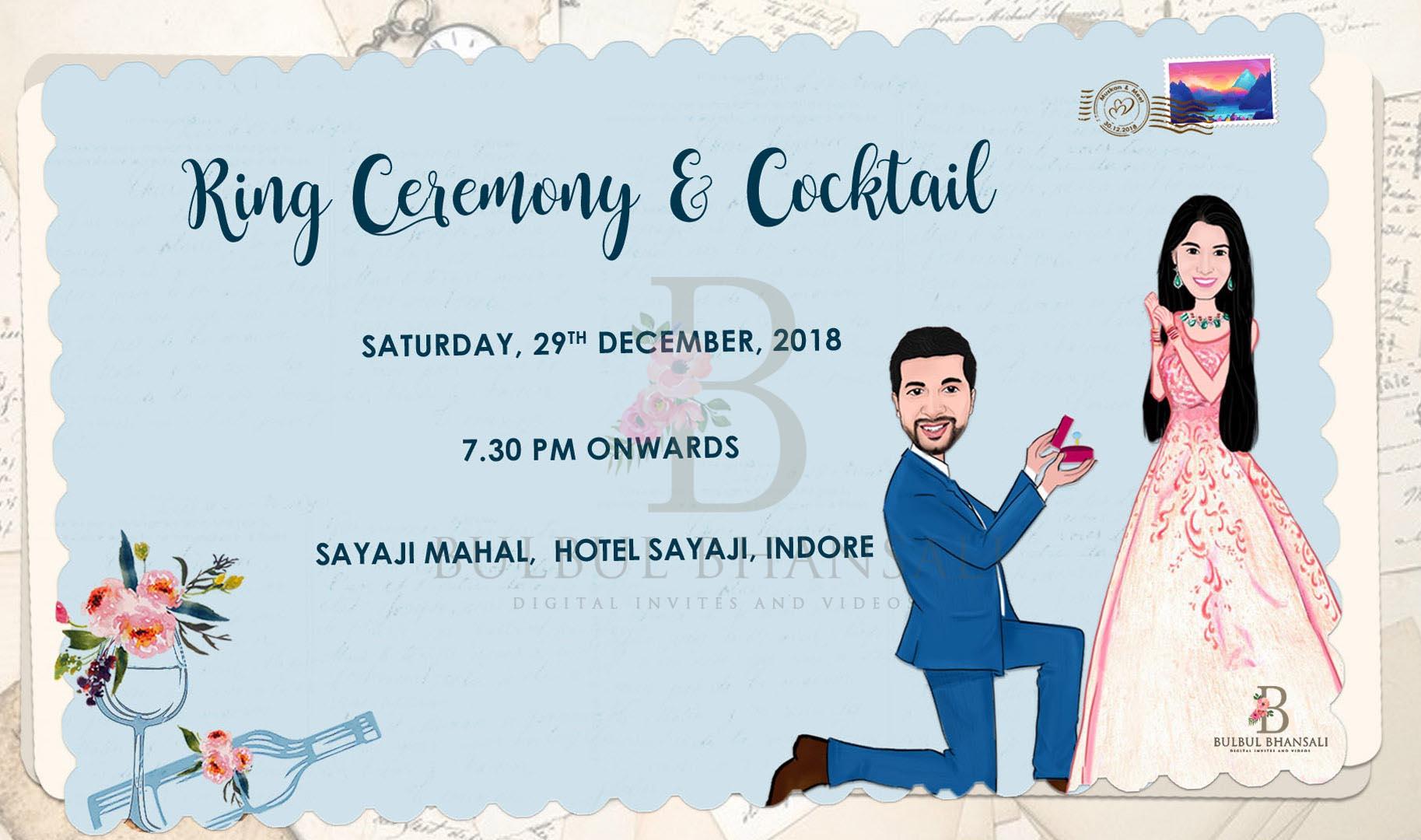 invitation, einvite, caricatureinvite
