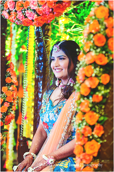 Candi Mehendi Shot floral jewelry