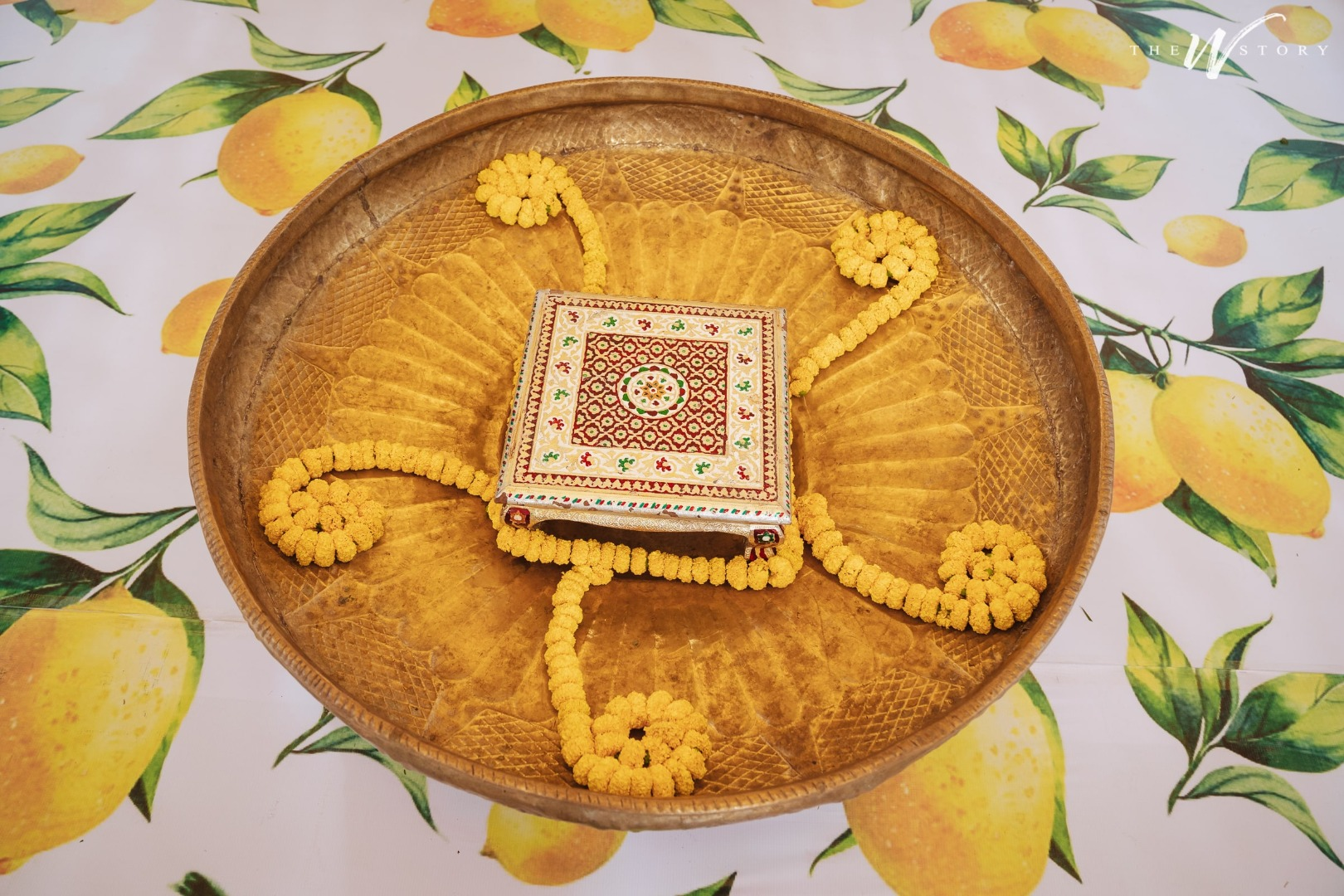 Haldi Thali Decoration Ideas