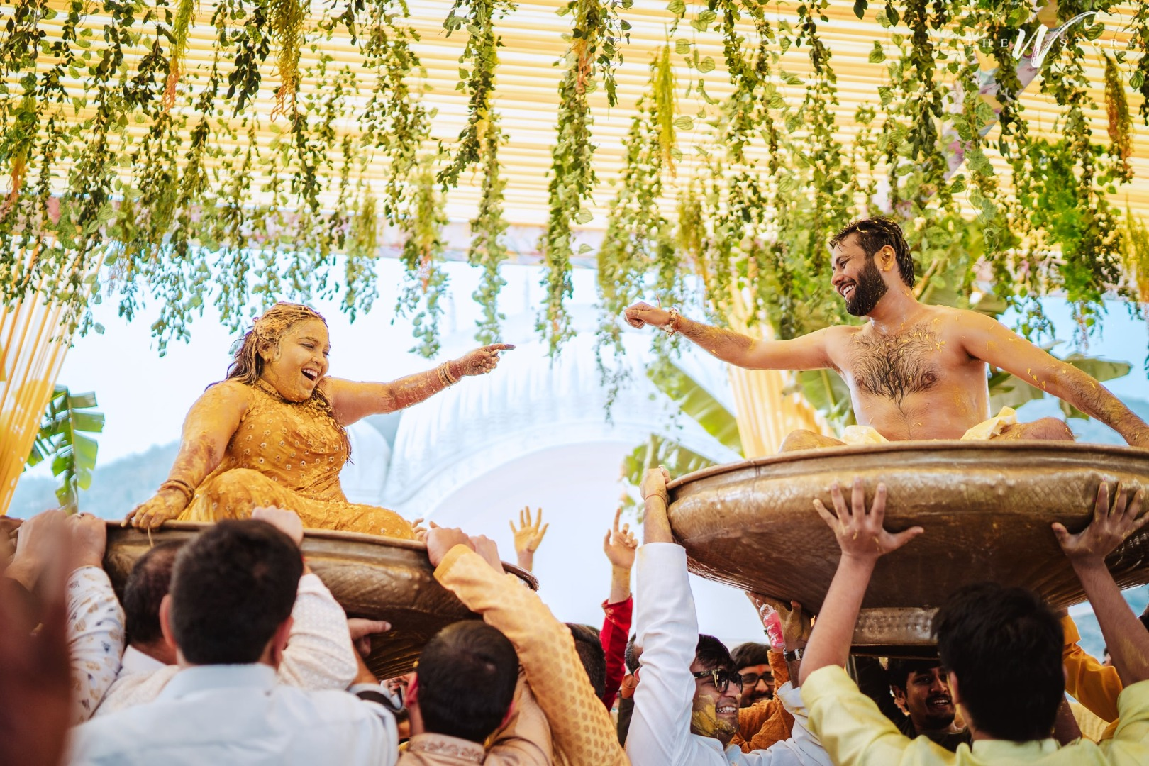 Creative Haldi Ceremony Photography Ideas