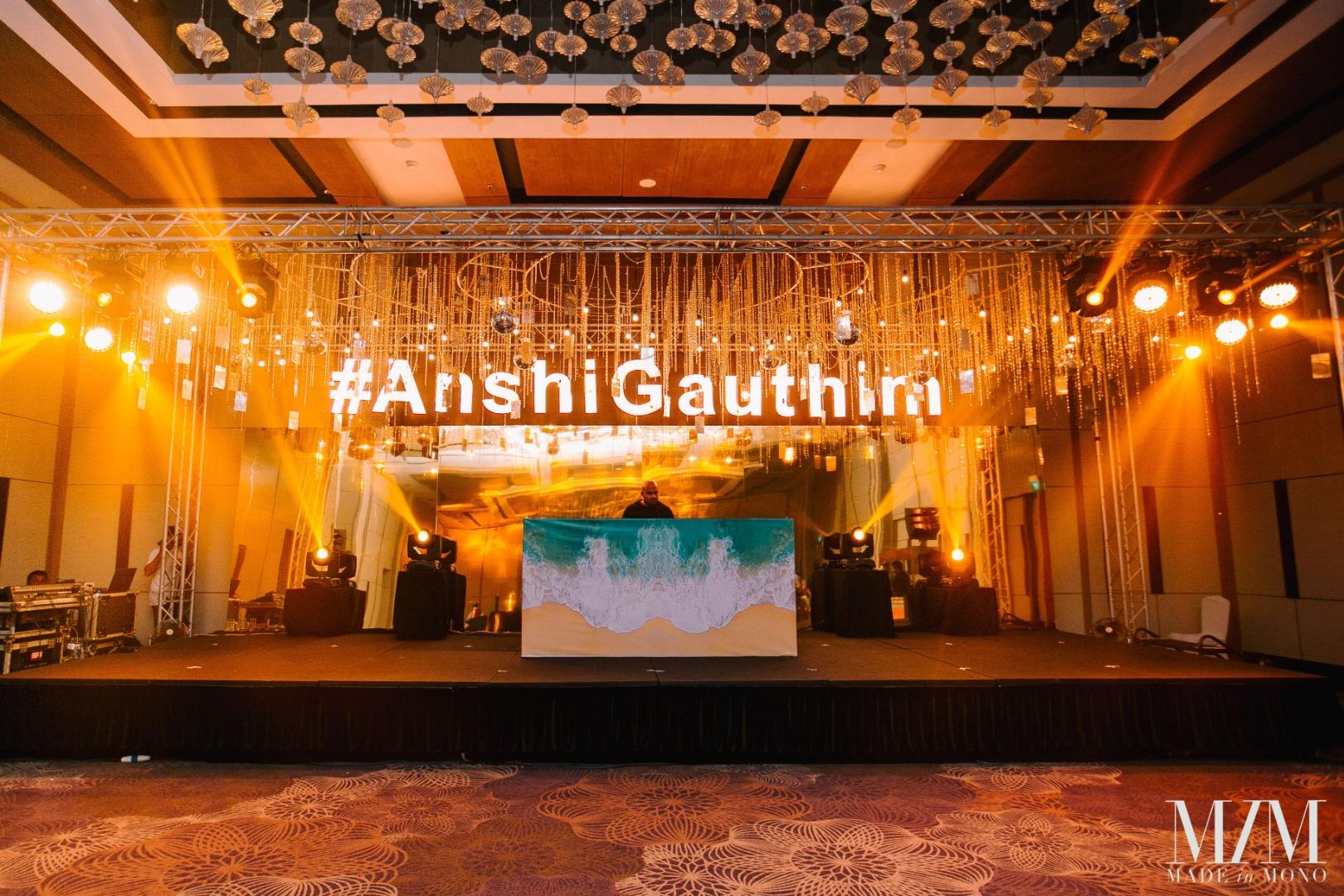 Amazing Wedding Stage Setup