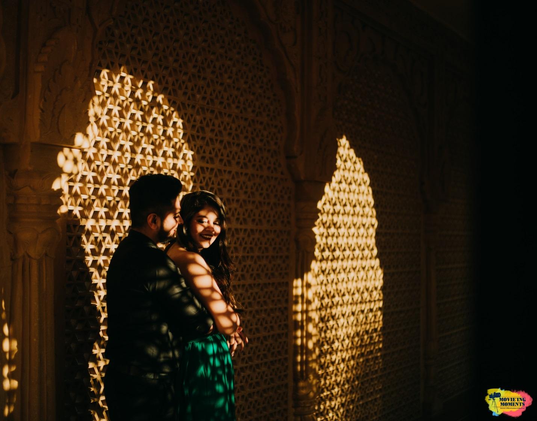 Couple prewedding shoot