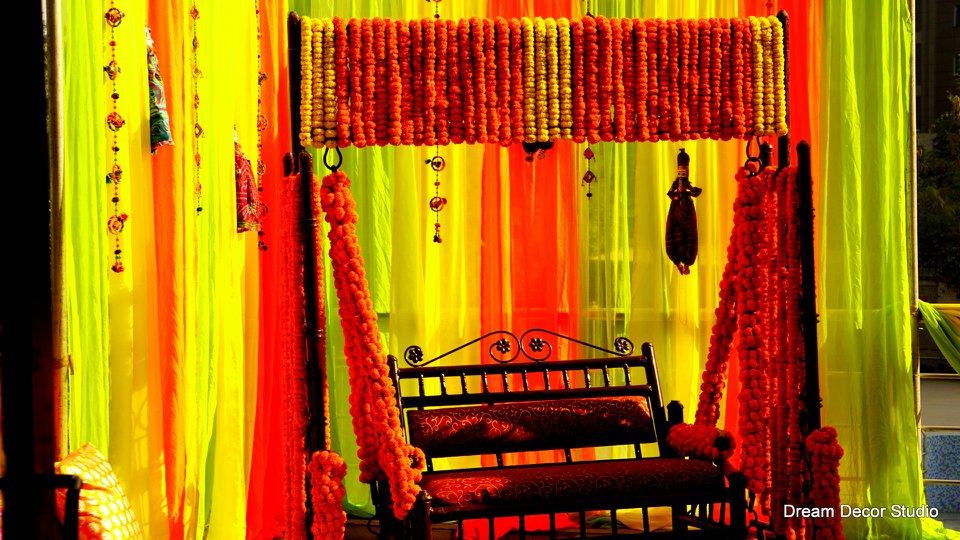 haldi decoration idea