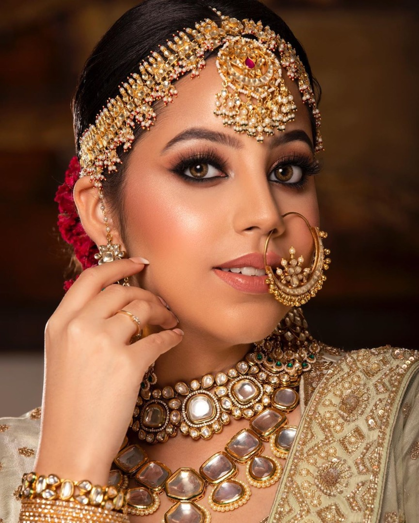 Beautiful HD bridal makeup