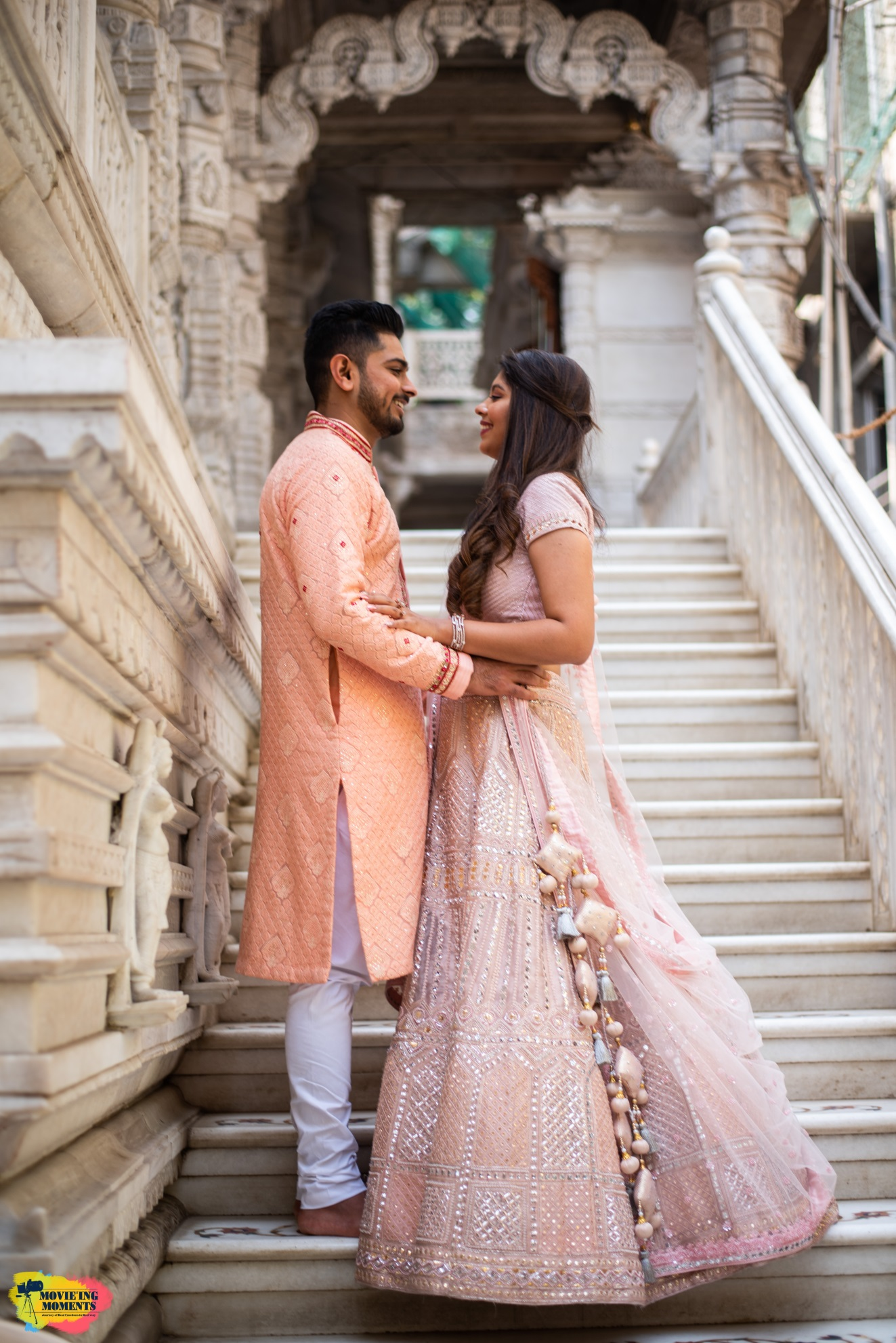 Indian outfits for bride and groom