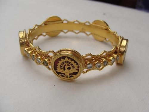 Golden Gemstone Jewelry