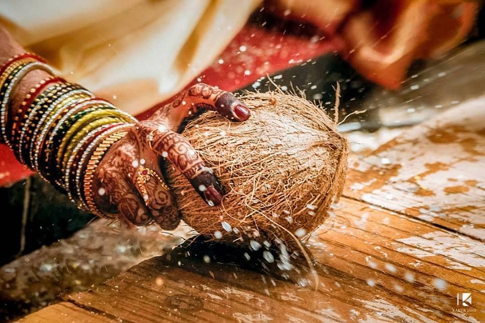 Coconut for Telugu Wedding