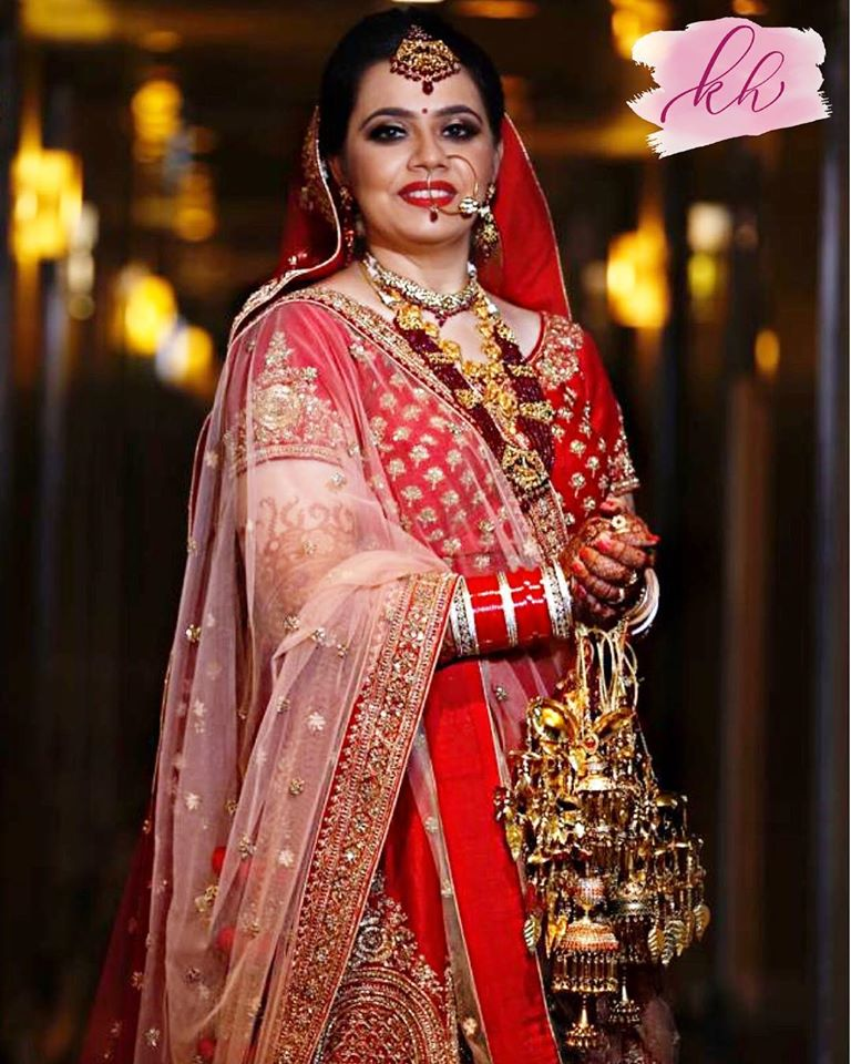 Traditional Indian Bridal Attire for Wedding