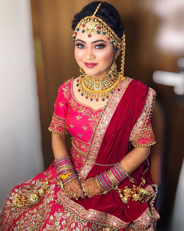 Multi Color Bridal Choora