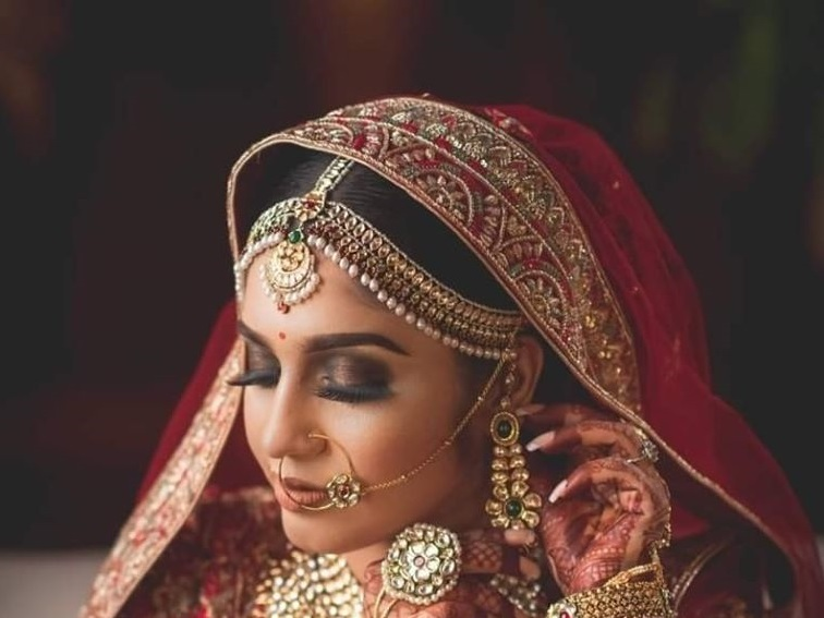 Queen Type Royal Bridal Makeup