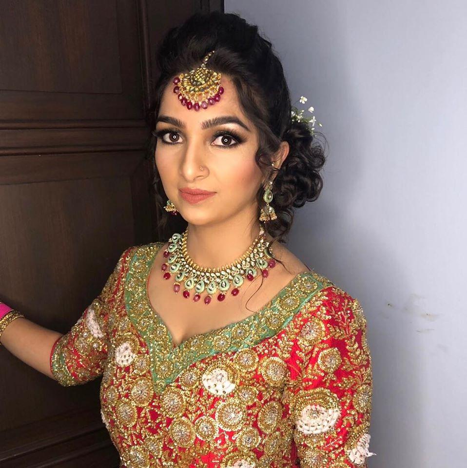 Engagement Ceremony Makeup