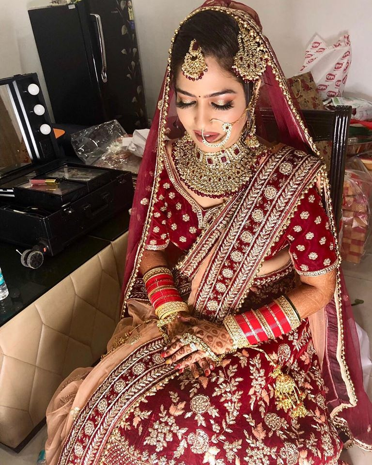 Heavy Bridal Outfit
