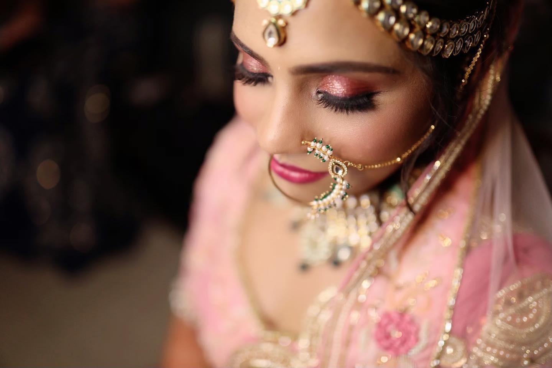 Beautiful Indian Bride in Pink