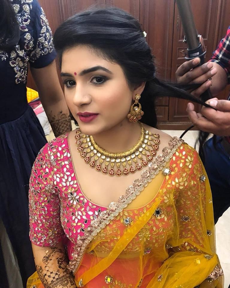 Haldi Ceremony Makeup