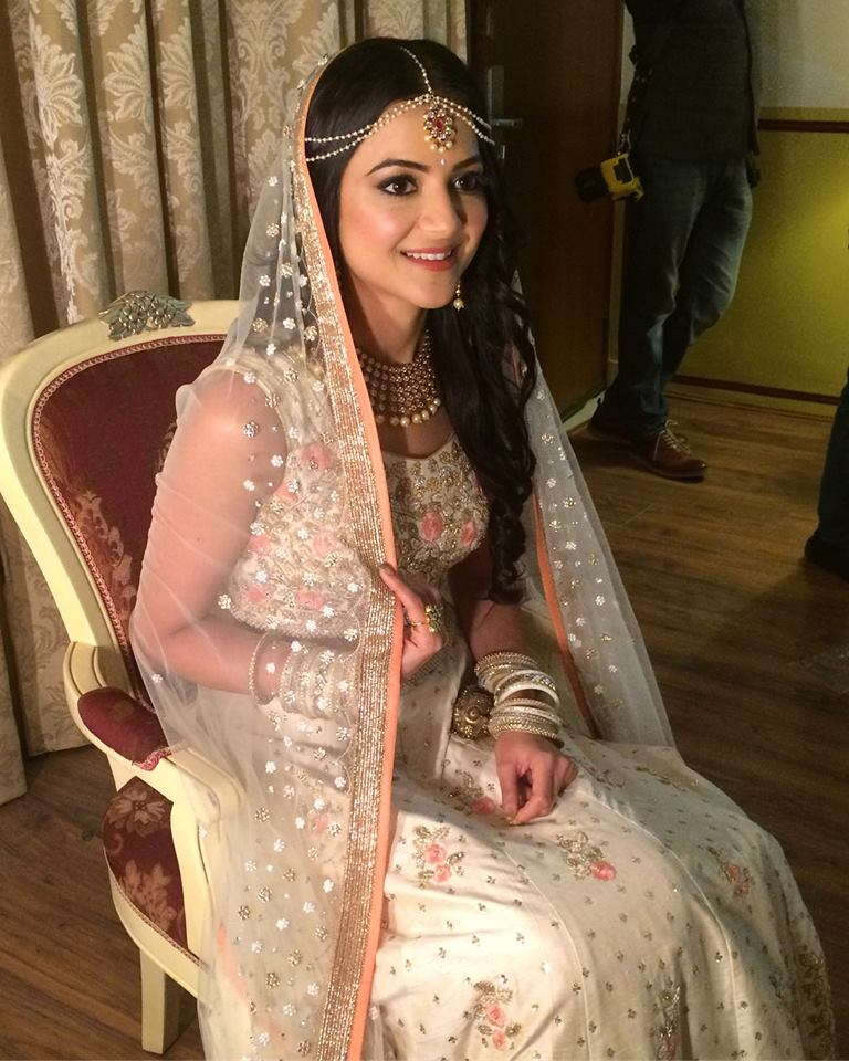 Engagement Makeup for Bride