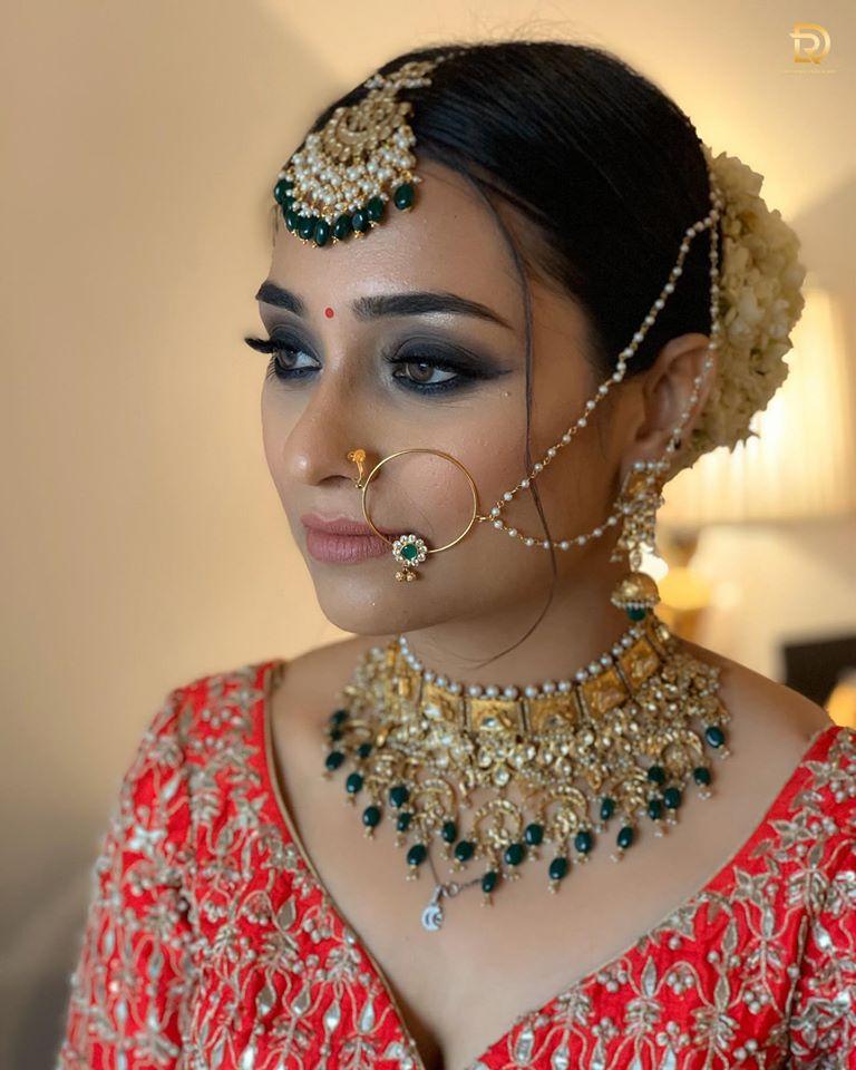 Rustic Bridal Look