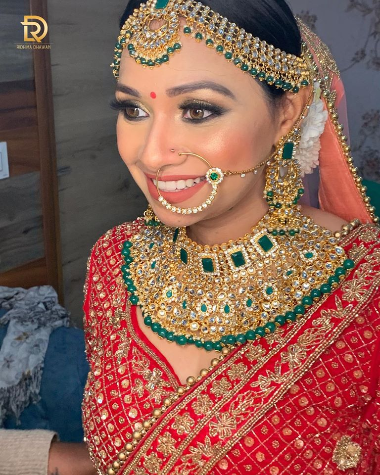 Heavy Bridal Choker Set