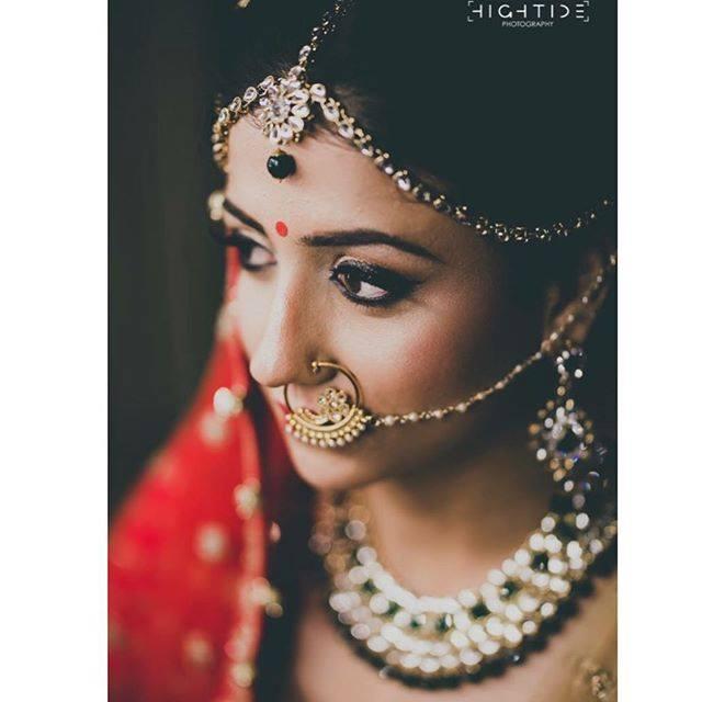 Most Beautiful Indian Bridal Makeup Look