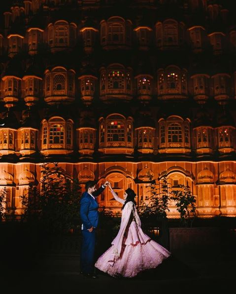 Couple Dancing at the Palance Wedding Venue
