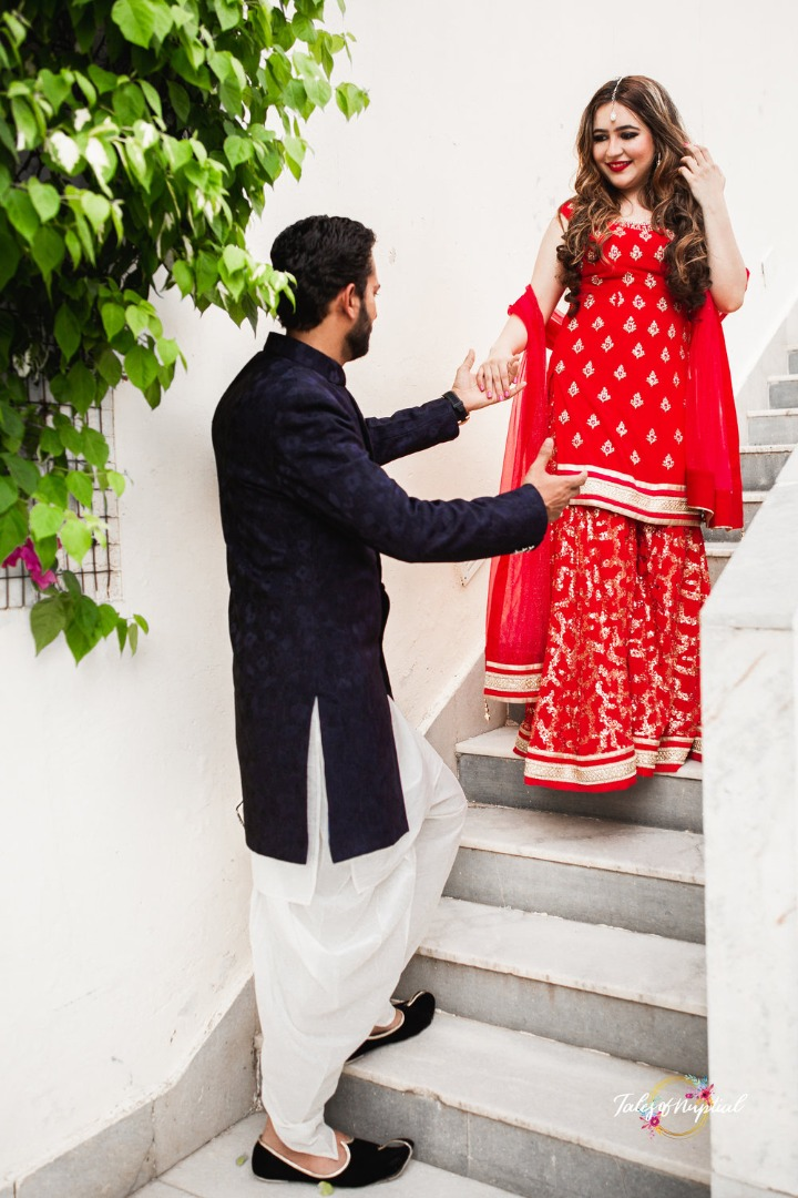 Cute Indian Couple Photography