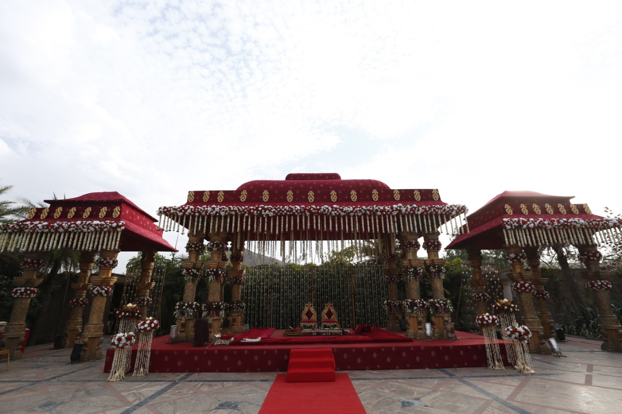 Mandapam decoration