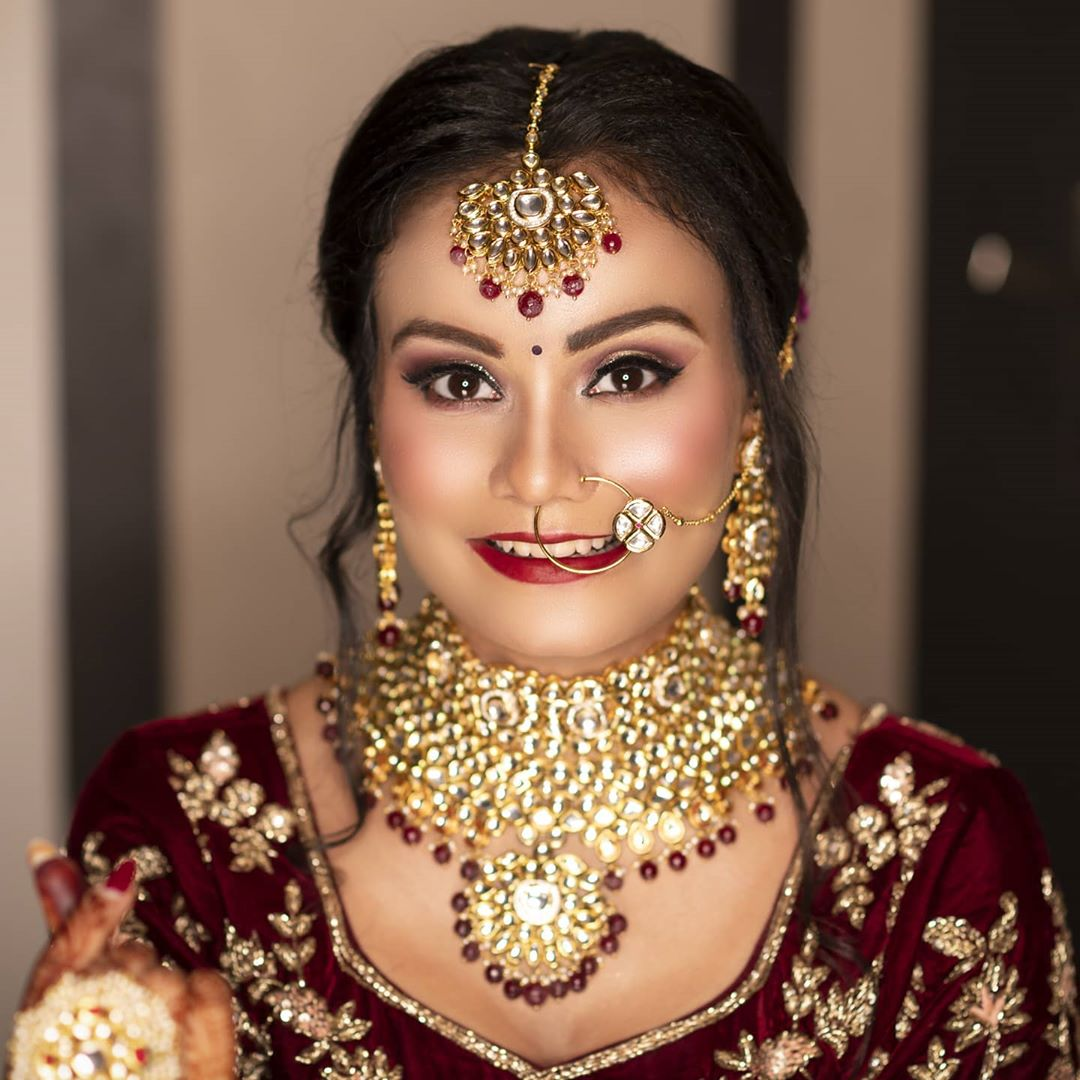 High Quality bridal makeup and style