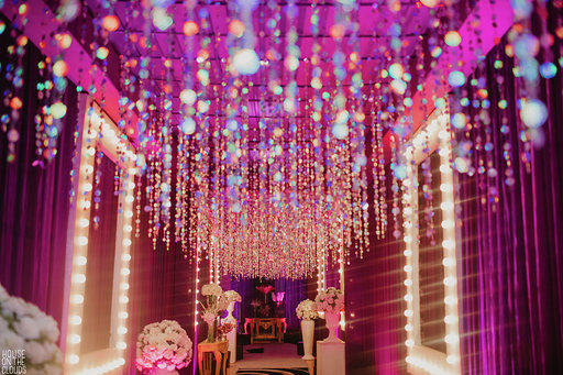Pink theme decoration
