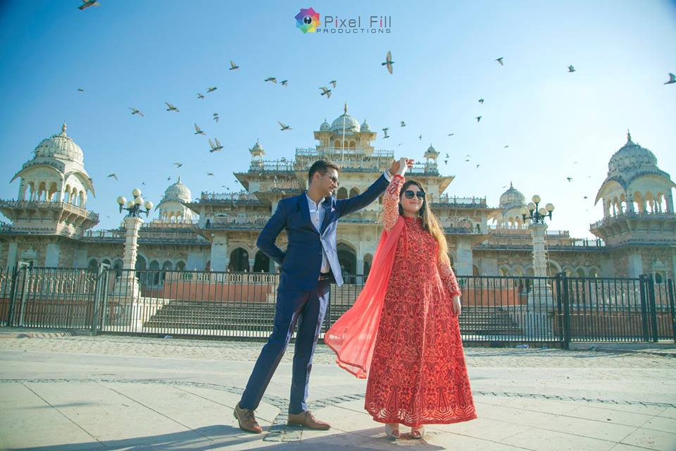 Outdoor Pre Wedding Photography
