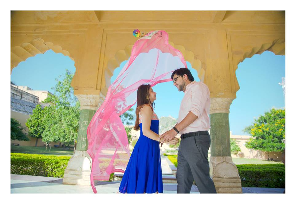 Pre Wedding Photography in Palaces of Rajasthan