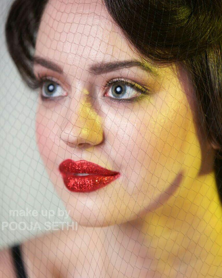 Red Glossy Lipstick