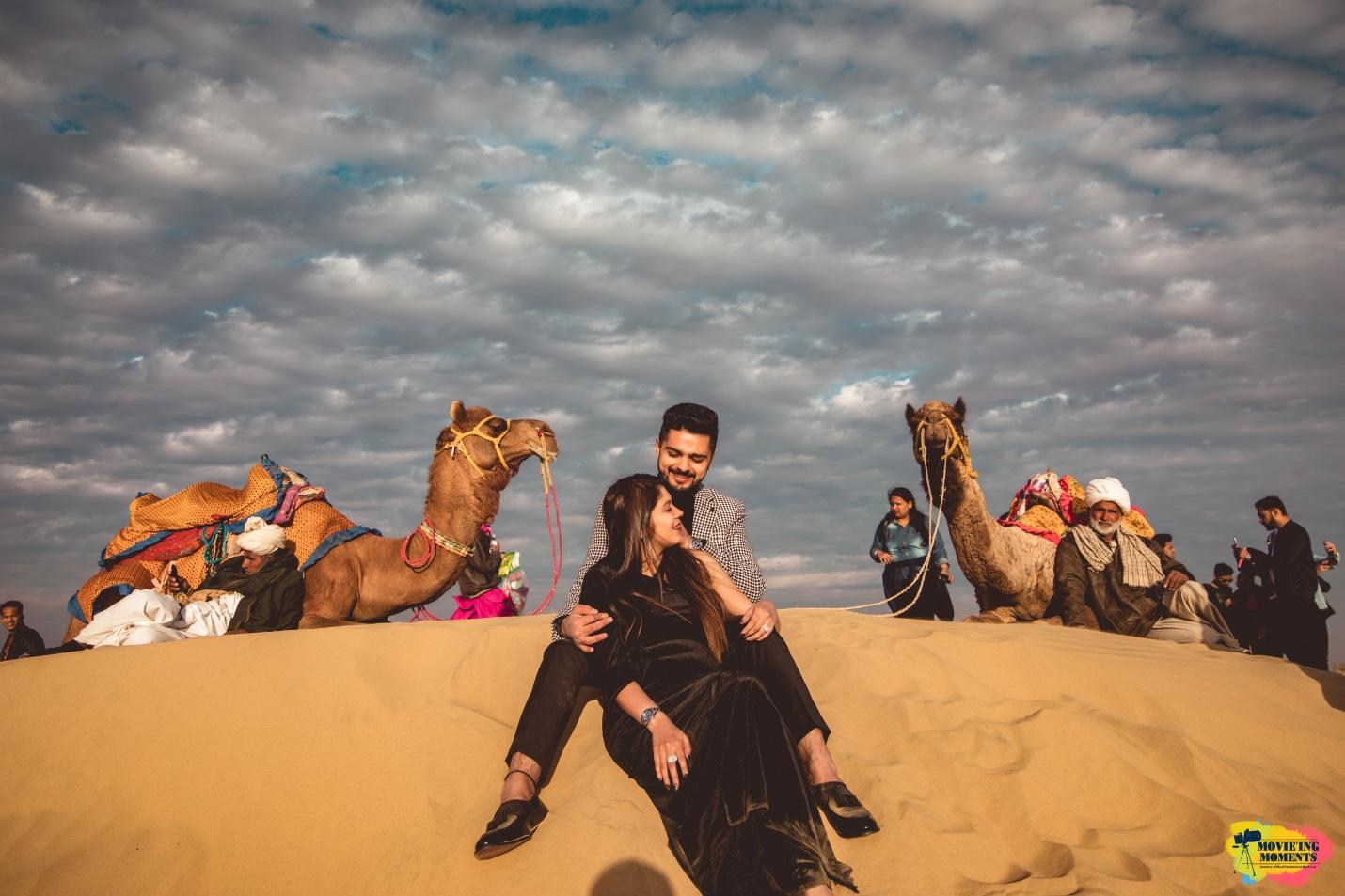 Prewedding shoot in jaisalmer