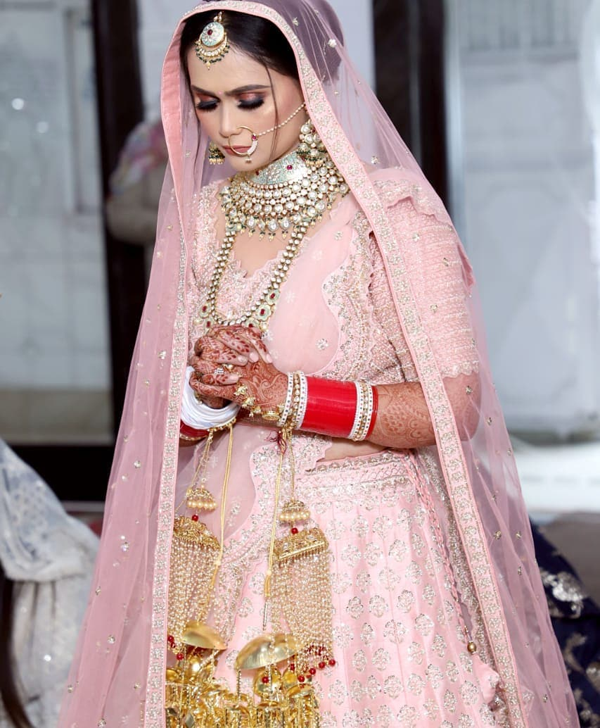 Beautiful Bride in Pink