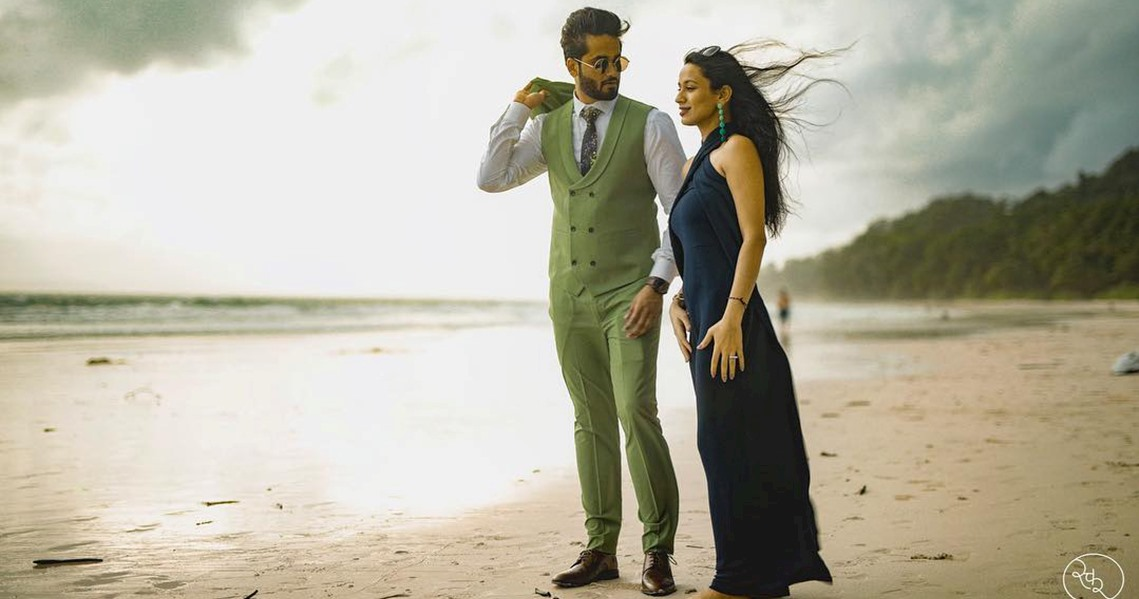 Pre Wedding Photography at Beach Side