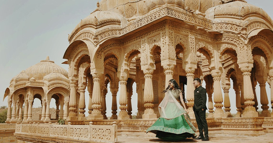 Royal Indian Pre Wedding Shoot