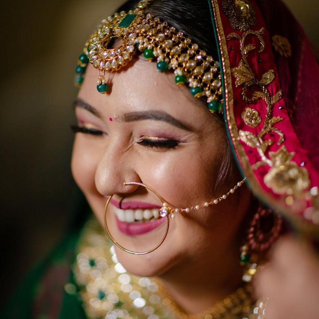 Beautiful Bridal Portrait Picture
