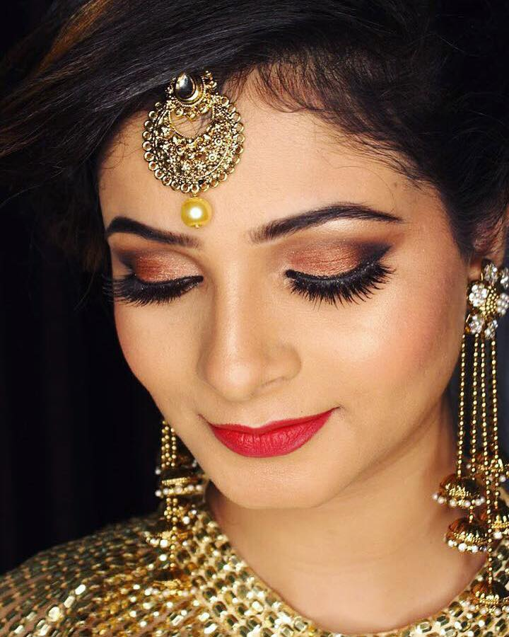 Airbrush Makeup for Royal Indian Bride