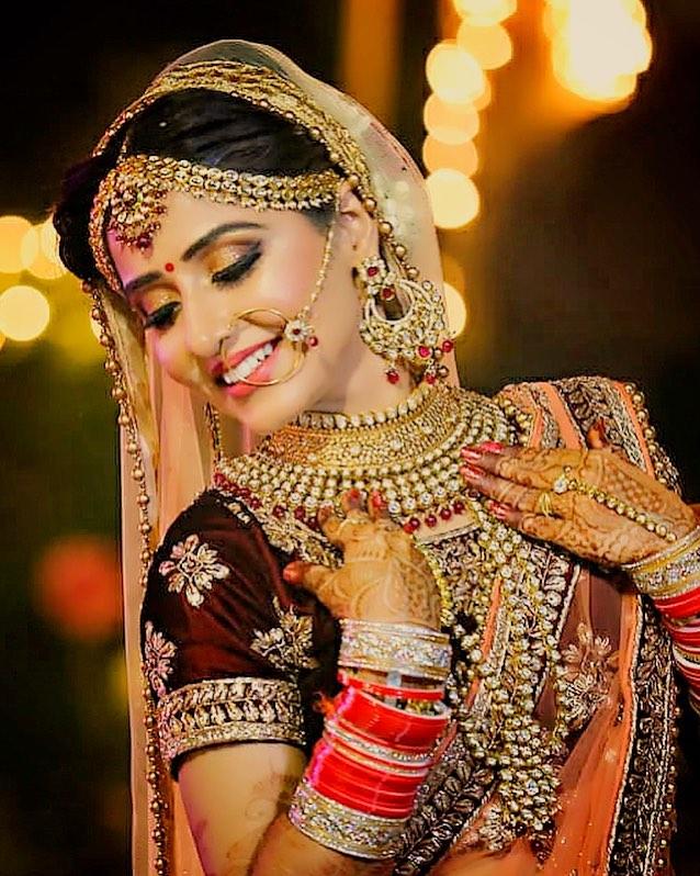 Pink Bridal Choora
