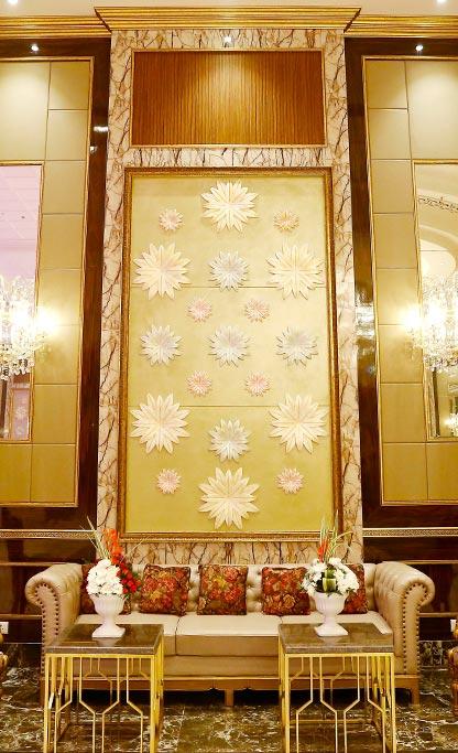 wedding launge area in 5 star hotel