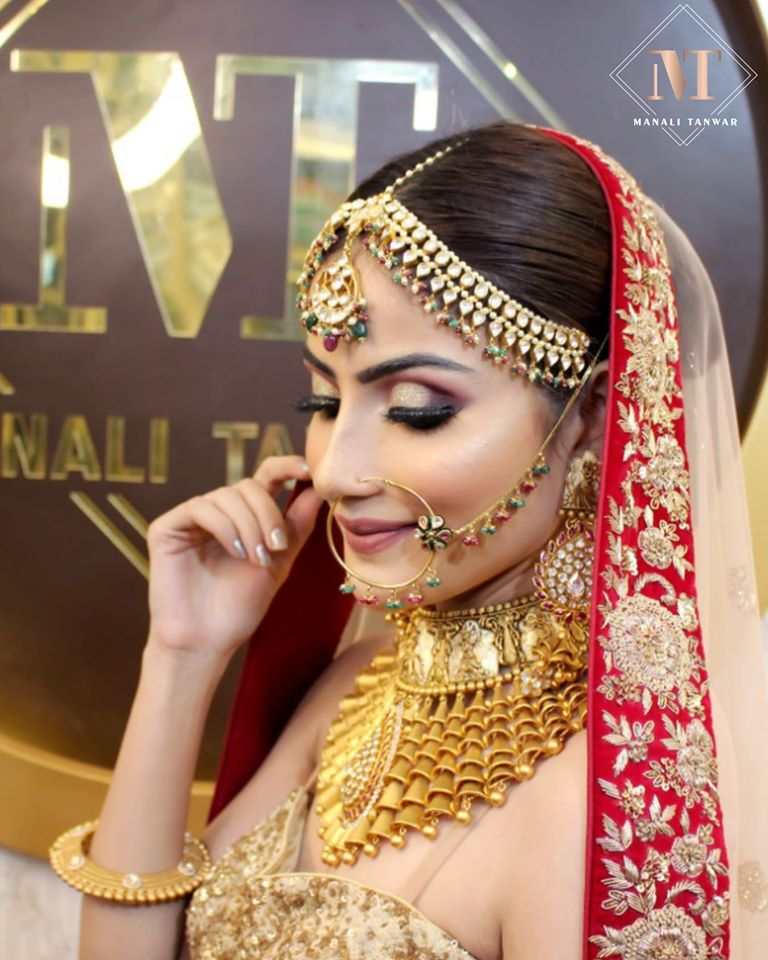 Unique Bridal Choker Set Ideas