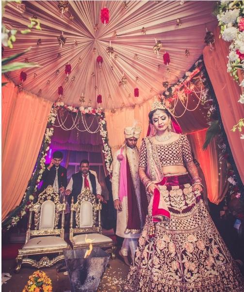 Wedding Pheras Shot