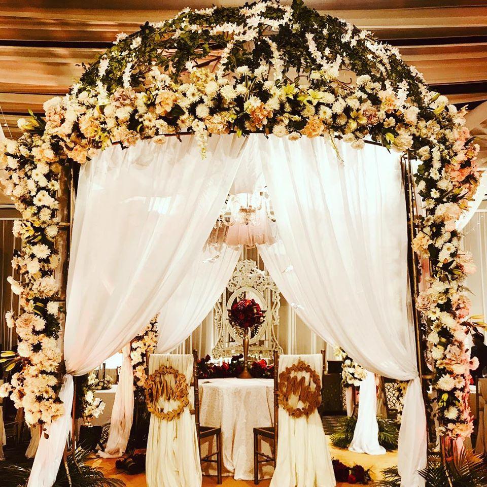 floral wedding decoration theme